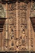 Bayon Tower at Angkor Thom, Siem Reap, Cambodia. — Stock Photo