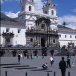 San Francisco Church in Quito - Ecuador — Stock Photo