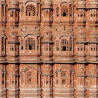 India. Rajasthan, Jaipur, Palace of Winds - Stock Photo