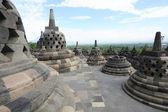 Archaeological site of Borobudur, UNESCO World Heritage — Stock Photo