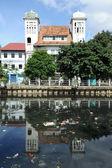 Kota dzielnicy jakarta, indonezja — Zdjęcie stockowe