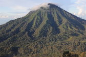 Vulcano Merapi on East Java, Indonesia — Stock Photo