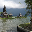 Hindu temple Bratan on a lake. Bali. Indonesia — Stock Photo