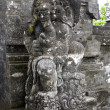Old stone statue of Ganesha, a hindu symbol (Indonesia) — Stock Photo