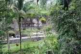 Chrám gunung kawi ve městě tampaksiring na ostrově bali, indonésie — Stock fotografie