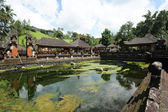 The temple complex of Gunung Kawi at Tampaksiring on the island of Bali, Indonesia — Stock Photo