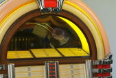 Retro style detailed classic juke box — Stock Photo