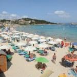 The beach of Baia Sardinia on the island of Sardinia, Italy — Stock Photo #30282915