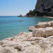 The beach of Cala Luna on the island of Sardinia, Italy — Stock Photo #30284409