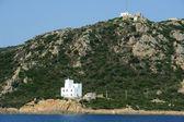 Wybrzeża w capo comino na wyspie sardynia, włochy — Zdjęcie stockowe