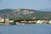 Santa lucia köyü sardunya adası, i̇talya — Stok fotoğraf
