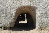 Tomb the giants S'ena and Thomes near Dorgali on the island of Sardinia — 图库照片