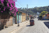 The village of Conception de Ataco on El Salvador — Stock Photo