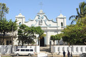 The church of Conception de Ataco on El Salvador — Stock Photo