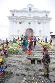índios, perto de igreja de santo tomas — Foto Stock
