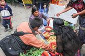 野菜の市場 — ストック写真