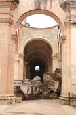 Ruins of the cathedral — Stock Photo
