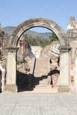 Ruins of the Recoleccion church — Stock Photo