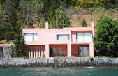 House on lake Atitlan — Stock Photo