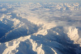 The italian alps between Aosta and Susa — Stock Photo