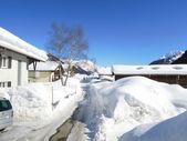 The village of Nante — Stok fotoğraf