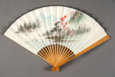 Hand fan of chinese theater — Stock Photo