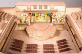 Model of an opera on Chinese Theatre — Stockfoto