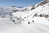 Ski slope of Engelberg — Stock Photo