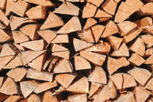 Multitude of wood pieces — Stock Photo
