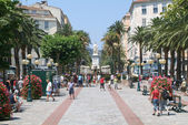 Foch square at Ajaccio — Stock Photo