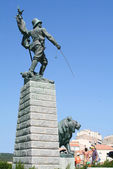 Monument of Foreign Legion — Stock Photo