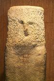 Menhir statue — Stock Photo