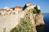 The old town of Dubrovnik — Stock Photo