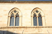 Window of the Rector's Palace at Dubrovnik — Stock Photo