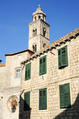 The dominican monastery at Dubrovnik — Stock Photo
