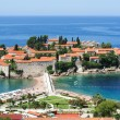 Постер, плакат: The village of Sveti Stefan