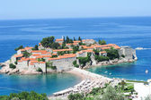 The village of Sveti Stefan — Foto de Stock