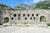 The archaeological site of Stari Bar — Stock Photo