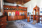 The indoor of St. Tommaso church at Berat — Stockfoto
