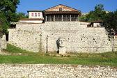 The citadel and fortress of Kala at Berat — Stock Photo