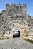 The citadel and fortress of Kala at Berat — Stock Photo
