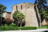 Old city walls of Durres — Stock Photo