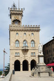 The public palace on Borgo Maggiore — Foto de Stock