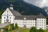 The convent of Engelberg on Switzerland — Stock Photo