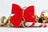 New Year bow — Stock Photo