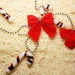 Stock Photo: Christmas bow