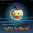 Royalty-Free Stock Vectorielle: Card Happy Halloween