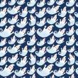 Royalty-Free Stock Vektorový obrázek: Seamless Halloween pattern with ghosts