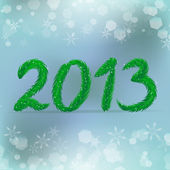 Creative happy new year 2013 design — Wektor stockowy