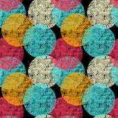 Seamless circle background, seamless pattern with round shapes — Wektor stockowy